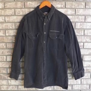 Men's Harley Davidson Corduroy Long Sleeve shirt